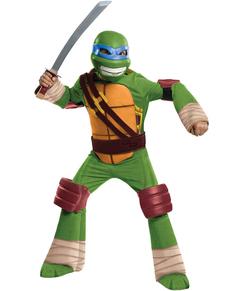 Fato de Leonardo Tartarugas Ninja infantil