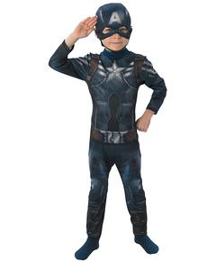 Fato de Capitão América O Soldado do Inverno para menino