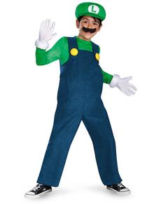 Fato de Luigi prestige para menino