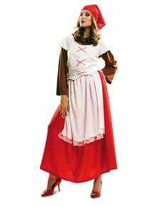 Fato de pastorinha de Belém para mulher