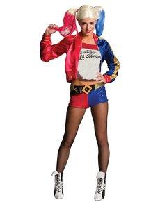Fato de Harley Quinn Suicide Squad para mulher